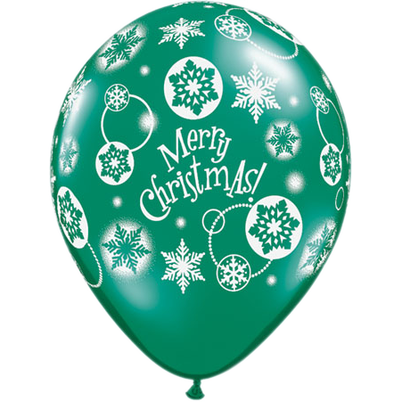 Christmas Latex Balloons